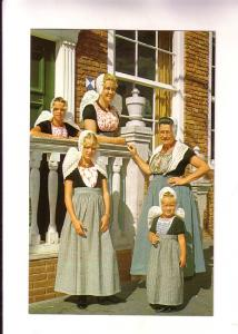 Three Generations of Women in Fancy Traditional Dress, Domburg, Netherlands