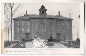 Maine Central School,  Pittsfield ME.  (damaged card)