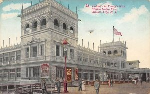 Entrance to Young's New Million Dollar Pier in Atlantic City, New Jersey