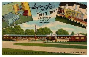 South Carolina Greenville , The Catalina Hotel Court