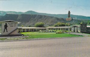 David Crockett Motel , KAMLOOPS , B.C.,  Canada , 50-60s : #2