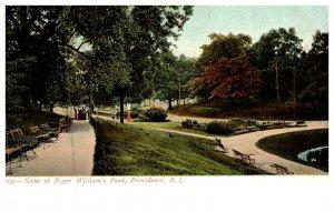 Rhode Island Providence , Roger Williams Park, Scene