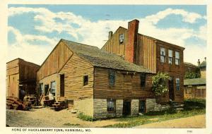 MO - Hannibal. Home of Huckleberry Finn