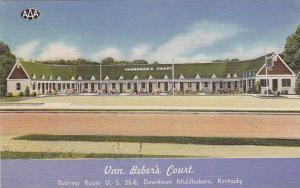 Van Beber's Court, Middlesboro,  Kentucky, 30-40s