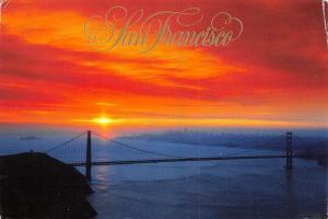 USA California San Francisco The Golden Gate Bridge