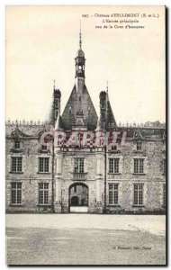 Old Postcard Chateau d & # & # 39entree 39ESclimont The main view of the Cour...