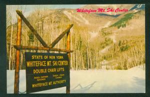 Whiteface Mt Ski Resort Mountain Skiing New York Adirondack Lake Placid NY