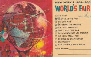 NEW YORK CITY World's Fair , 1964-65