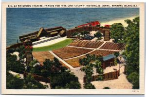 Waterside Theatre, Lost Colony, Roanoke Island NC