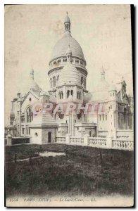 Old Postcard Paris (XVIII) Sacre Coeur