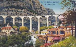 LES GORGES DU LOUP, Le Viaduc, Alpes Maritimes, France, PU