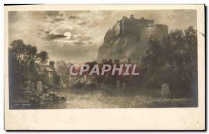 Old Postcard Edinburgh Castle