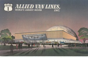 NEW YORK CITY,  1964-65 World's Fair; Allied Van Lines, Transportation Pavilion