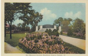 BRANTFORD , Ontario , 1930s; Bell Memorial Gardens