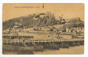 Festung Ehrenbreitstein a. Rh., Koblenz (Rhineland-Palatinate), Germany, 1900...