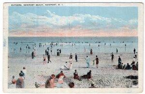 Newport, R.I., Bathers, Newport Beach