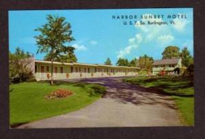 VT Harbor Sunset Motel S South BURLINGTON VERMONT PC