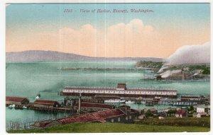 Everett, Washington, View of Harbor