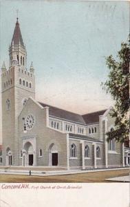 First Church Scientist Concord New Hampshire 1905