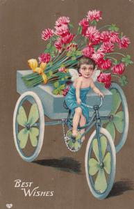Best Wishes , Shamrock tri-cycle , 1907