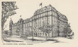 MONTREAL , Quebec , Canada , 190-10s;  Sketch of The Windsor Hotel