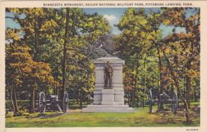 Minnesota Monument, Shiloh National Military Park, Pittsburg Landing, Tenness...