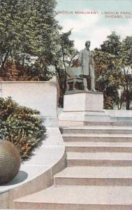 Illinois Chicago St Gauden's Lincoln Statue In Lincoln Park