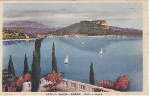 Lado di Garda, GARDA, Golfo e Rocca, Sail boats, Veneto, Italy, PU-1945