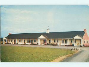 Unused 1950's JENNY LIND MOTEL West Hatfield Massachusetts MA s5094