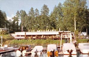 Portland Oregon Anchorage Street View Vintage Postcard K57487
