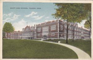 Ohio Toledo Scott High School 1916