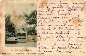 CPA AK SAIGON - Jardin Botanique VIETNAM-Indochine (762322)