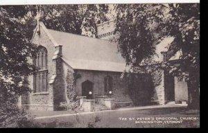 Vermont Bennington The St Peters Episcopal Church Collotype