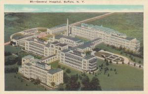 BUFFALO , New York , 1910-20s; General Hospital