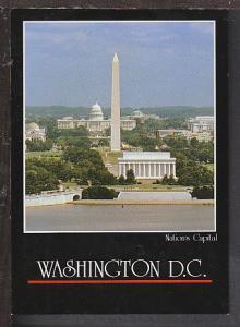 Washington Memorial Washington DC Postcard BIN
