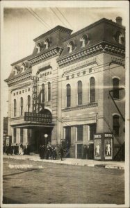Davenport IA The Burti Opera Nice Details 1909 Real Photo Postcard xst