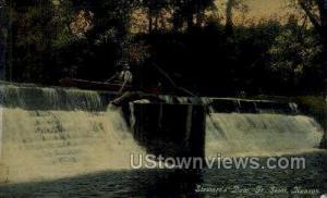 Stewart's Dam Fort Scott KS Unused