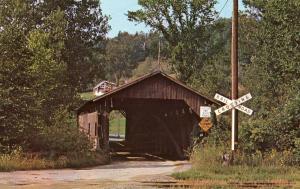 VT - Cambridge Junction. Covered Bridge