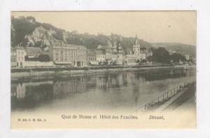 Quai De Meuse Et Hotel Des Familles, Dinant (Namur), Belgium, 1900-10s