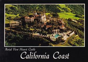 California San Simeon Aerial View Of Hearst Castle And Grounds