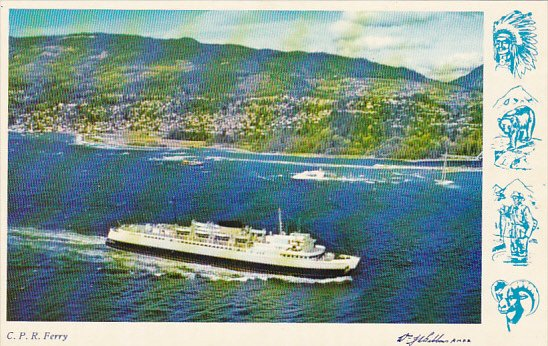 Canada C P R Ferry