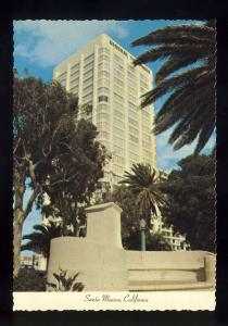 Santa Monica, California/CA Postcard, Lawrence Welk Tower Apartments, Near Mint!