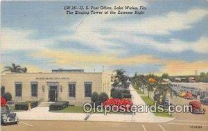 US Post Office Lake Wales, FL, USA Unused