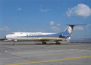 TRANSAGO, TU-134A-3, unused Postcard