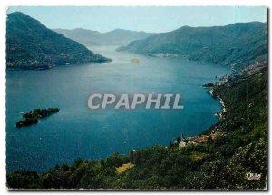Modern Postcard Veduta Lago Maggiore Ronco Ascona Brissago Isole