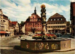 CPM AK Schwabisch Gmünd – Marktplatz – Modern Card GERMANY (857349)