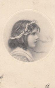 VIENNE , Victorian Girl #2 , 1911 ; M MUNK Nr 371