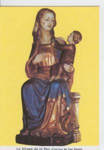 Postal 013602: Virgen de la Paz
