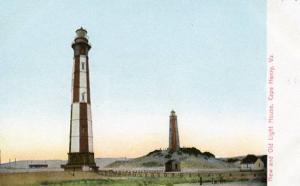 VA - Cape Henry, New & Old Lighthouses
