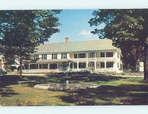 Pre-1980 INN SCENE Newfane Vermont VT G8992